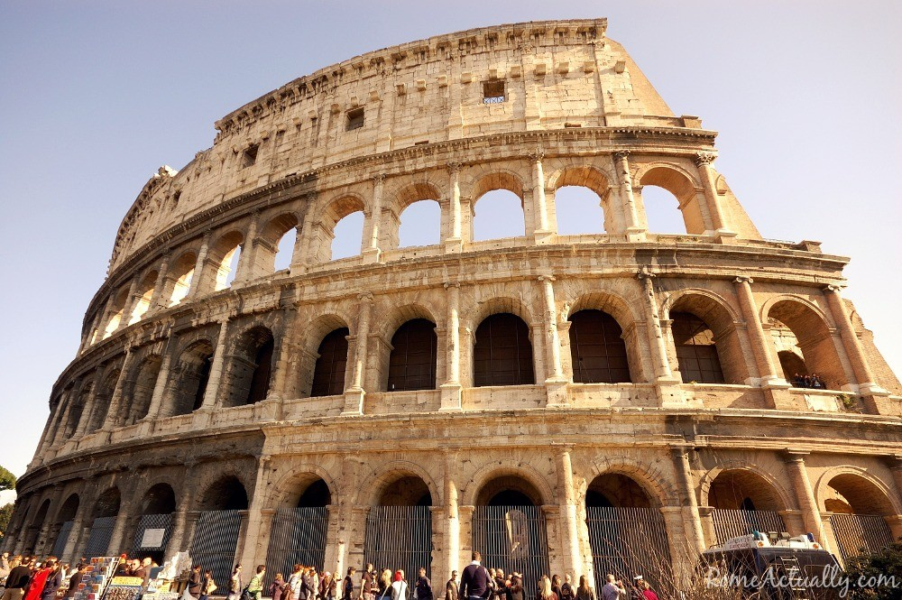 One more shot of the Colosseum from Via dei Fori Imperiali