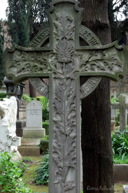 Finely inlaid cross