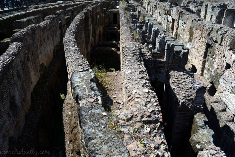 The Colosseum dungeon