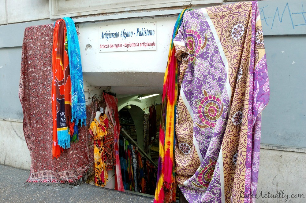 Pakistani and Afghani handicraft shop